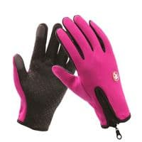 Kingdom GB Touchscreen Rainproof Gloves for Cycling, Outdoor Sports, Camping, Driving, Winter